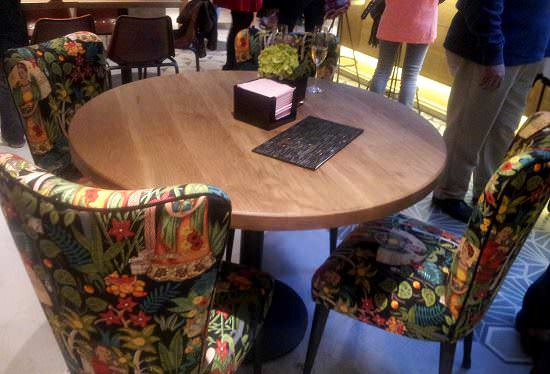 Decoración estupenda en el Café Colón