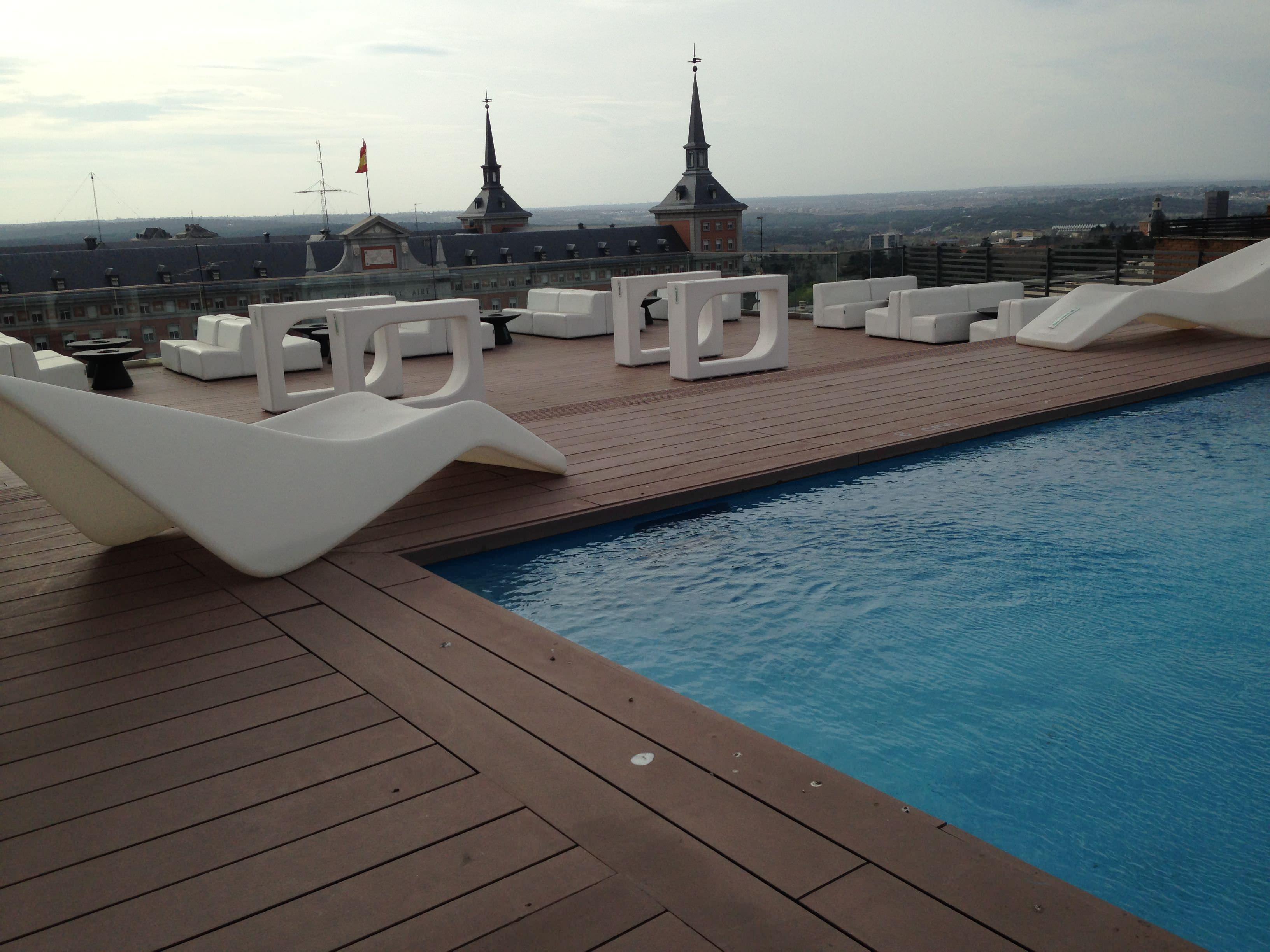 Terraza Hotel Exe Moncloa Un Buen Día En Madrid