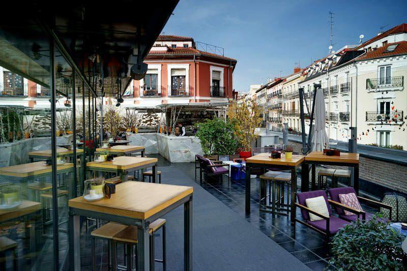 Las Mejores Terrazas De Madrid