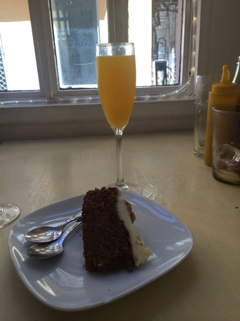 Carrot Cake y Mimosa
