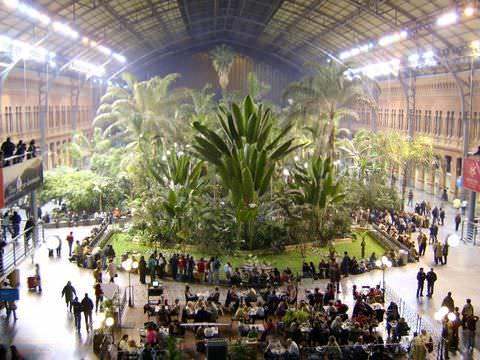 Jardín Tropical de la estación