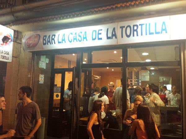 cartel casa de la tortilla