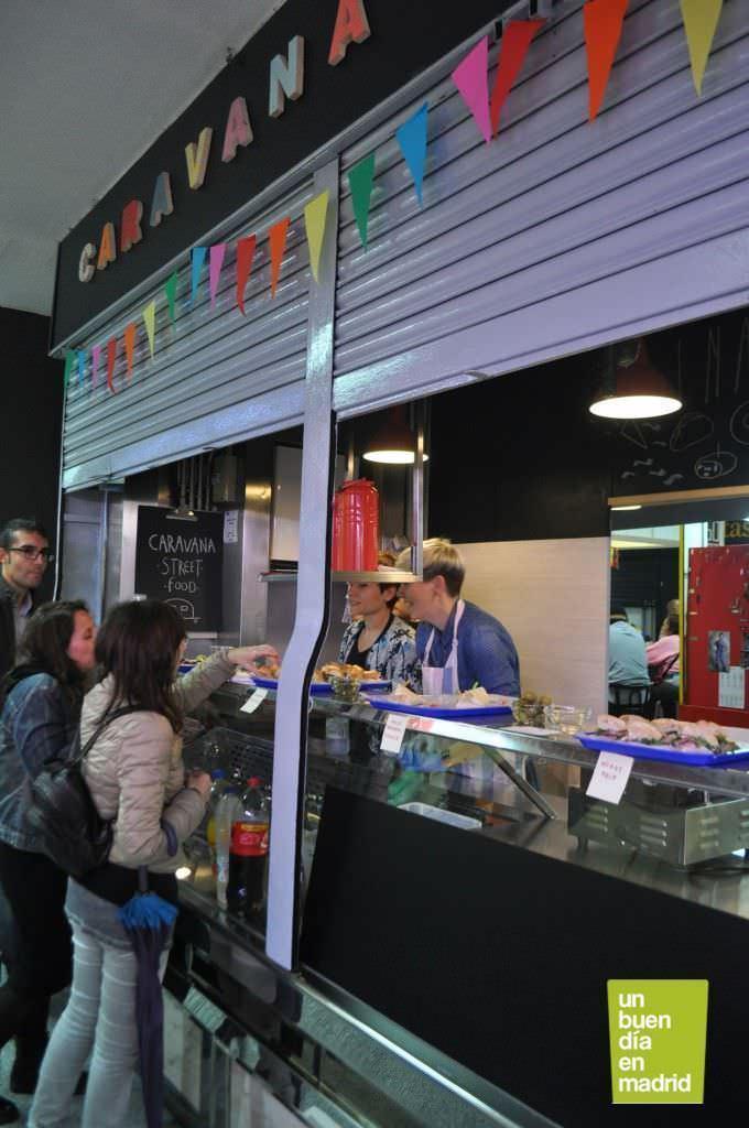 Caravana, el nuevo puesto street-food del mercado.