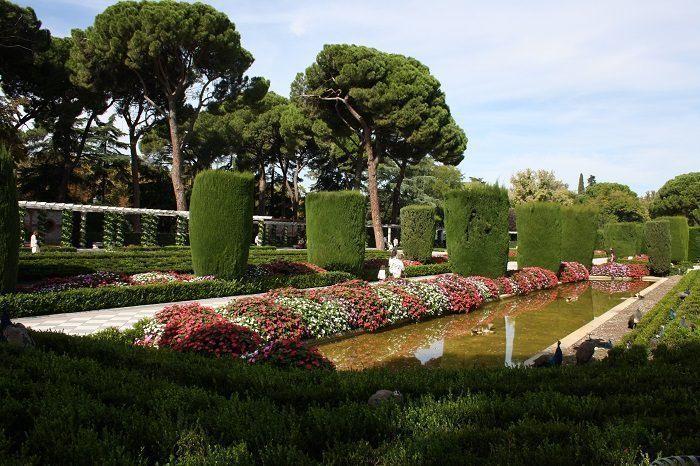jardin precioso en el retiro
