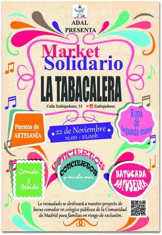 Market solidario La Tabacalera • Un buen día en Madrid