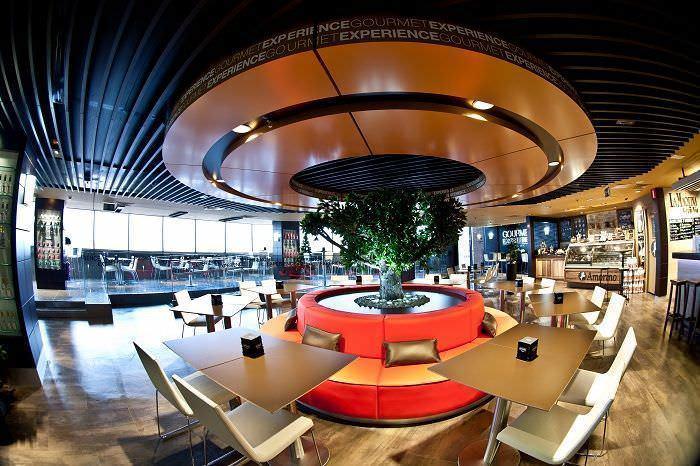 Interior del gourmet experience