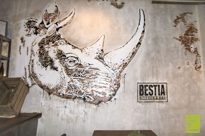 Bestia bar Madrid
