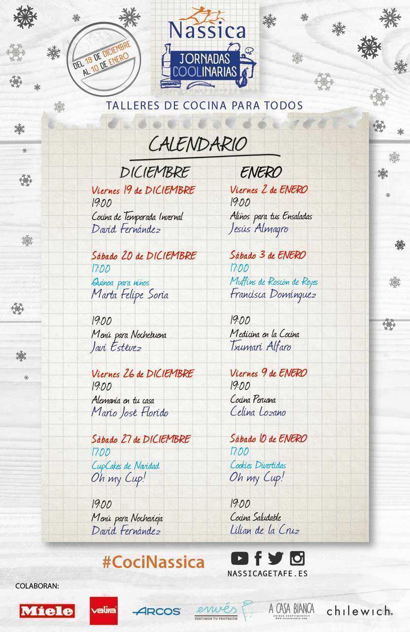 calendario nassica UBDEM