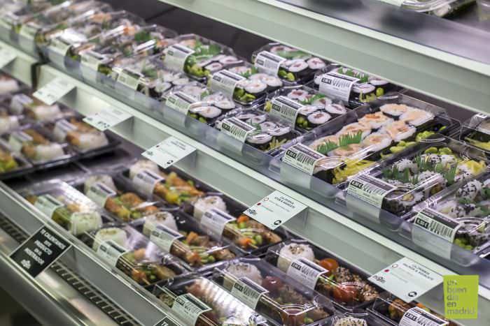 Mostrador de sushi