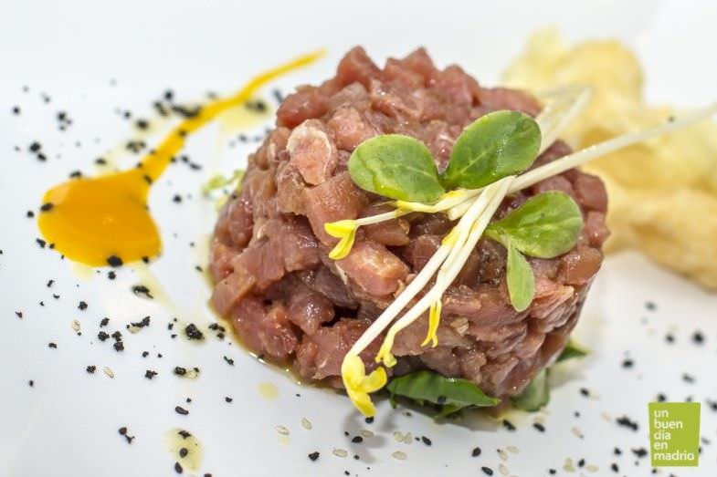 tartar de atún | Restaurante el 7 de Zahonero