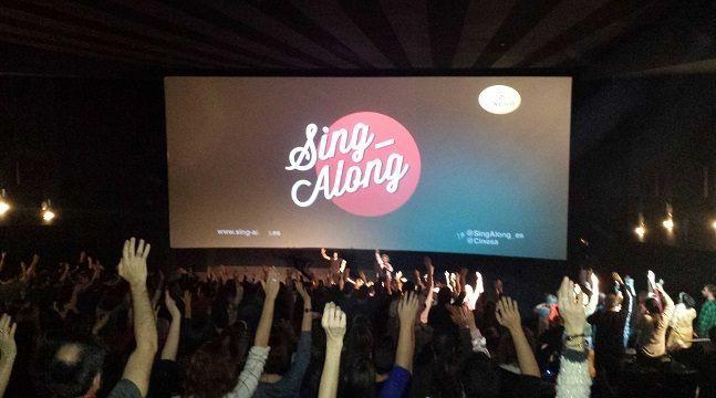 karaoke en el cine