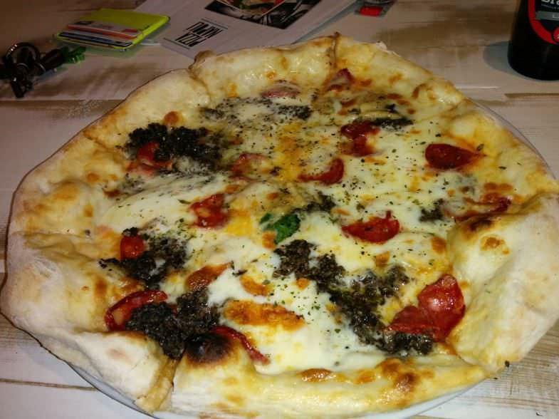 Pizza muy gourmet