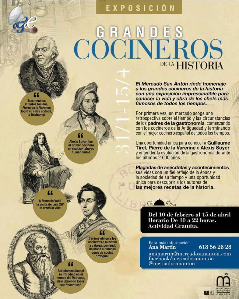 cartel Grandes Cocineros