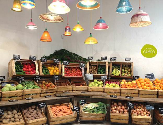 frutas y verduras de temporada del colmado