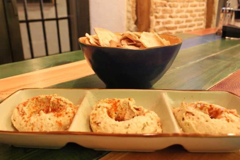Dip Hummus: perfecto entrante