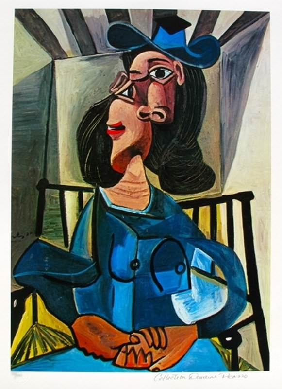 Picasso. Woman with Hat Seated in an Armchair. 1940