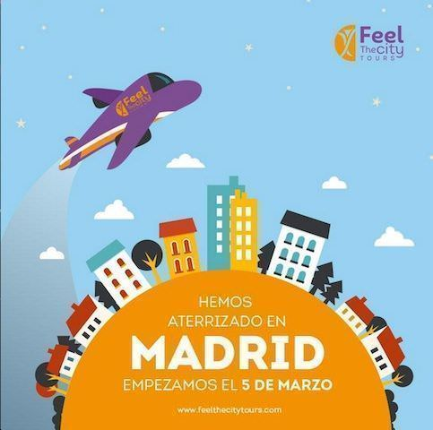 Feel the City Tours aterriza en Madrid!