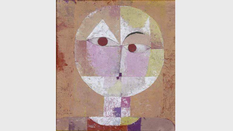 Paul Klee. Senecio (Baldgreis), 1922.