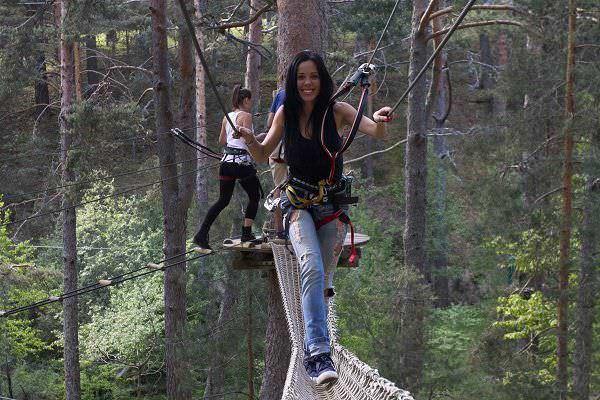 Aventura en los árboles