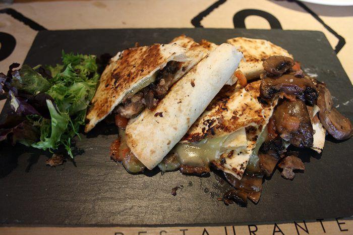 Quesadilla del restaurante Panenka