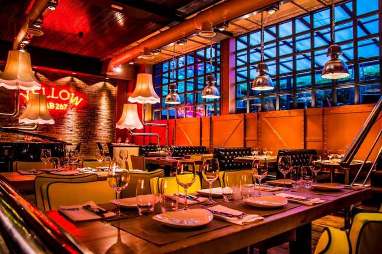 restaurante original taxi a manhattan