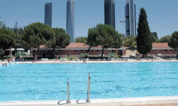 ¡Ya abren las piscinas de Madrid!