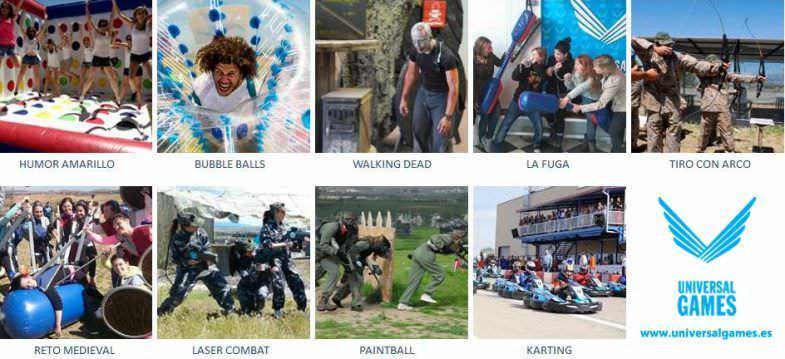 actividades para grupos en Madrid