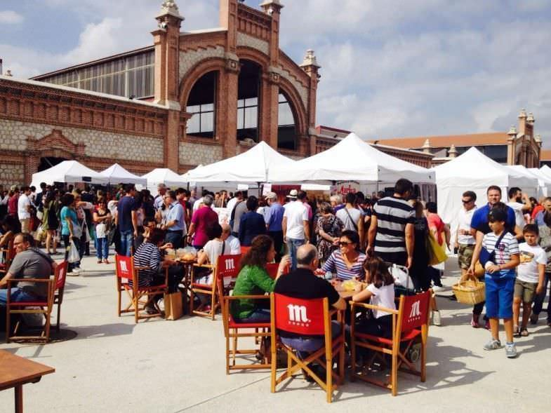 mercado de productores Madrid 2015