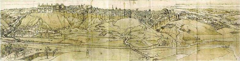 Dibujo_madrid_1562 anton van der wyngaerde