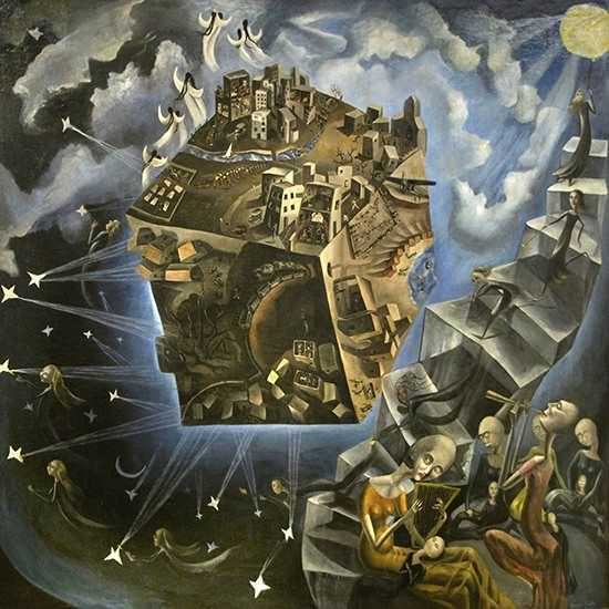 El Mundo (1929) by Ángeles Santos Torroella, who had completed her best work by the age of 19