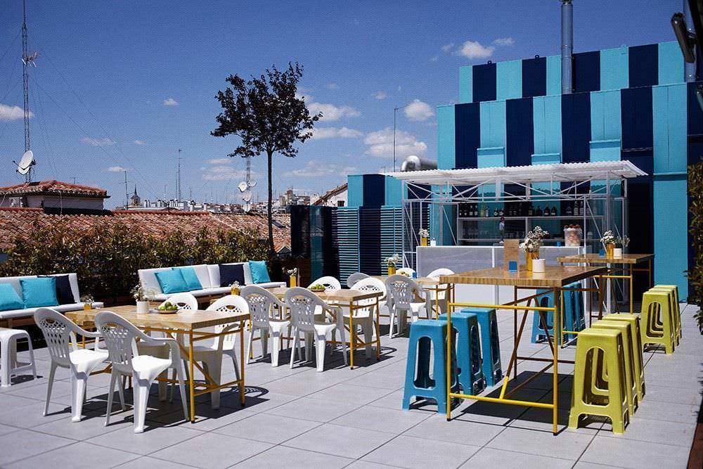 Las mejores terrazas de madrid for Terraza la casa de granada madrid
