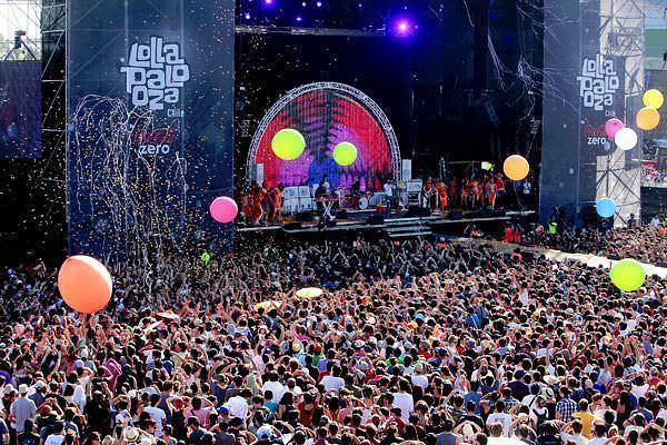 lollapalooza escenario