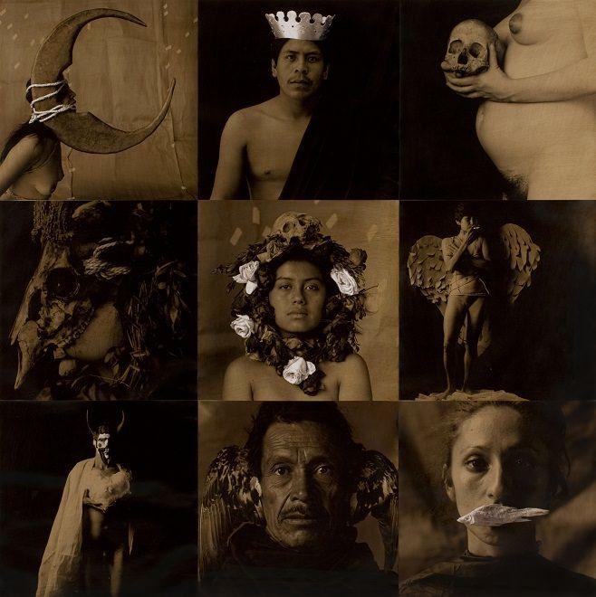 Luis González Palma_La Lotería I (La luna, el rey, la muerte, la máscara...