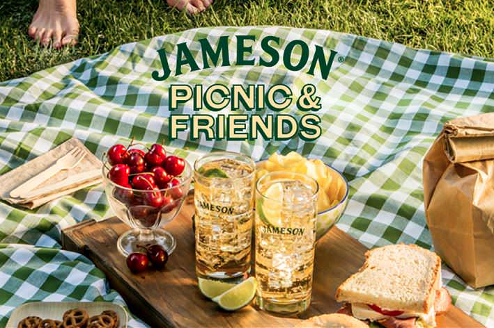 jameson picnic and friends
