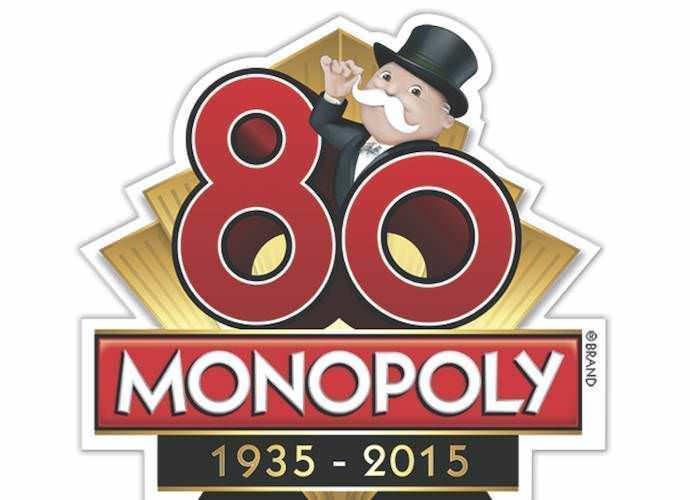 Logo 80 aniversario Monopoly