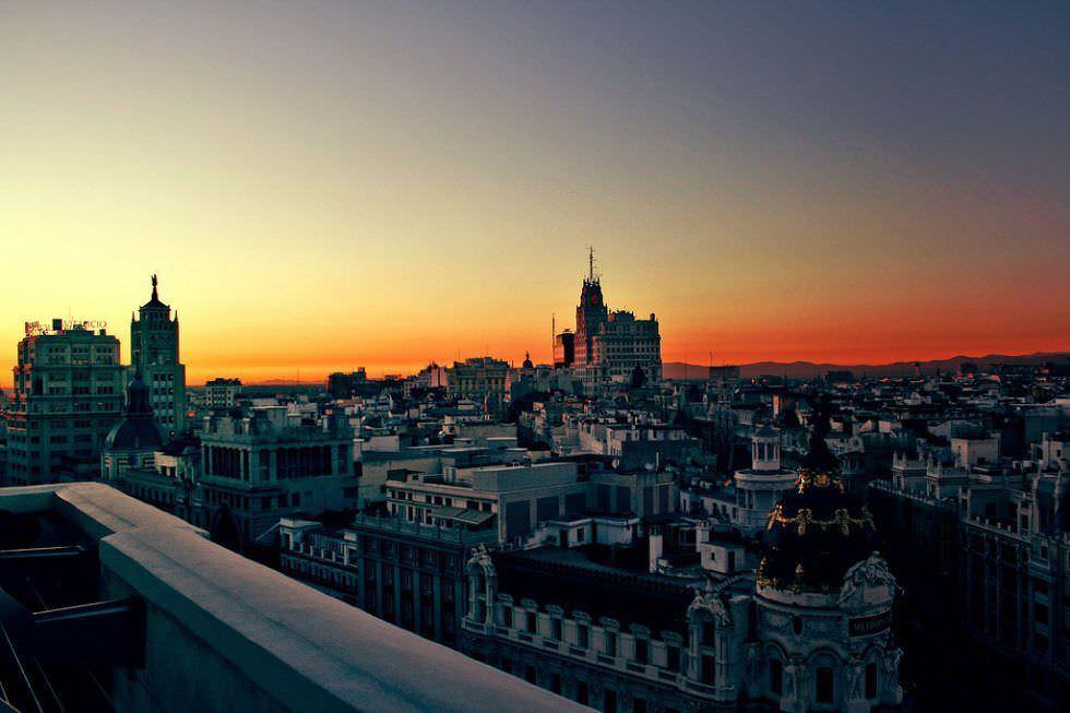 10 Increíbles Atardeceres Para Ver En Madrid Un Buen Día