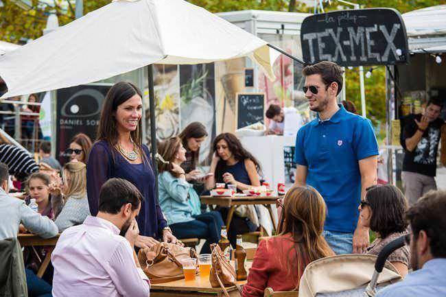Ambiente en el 2º Beer Street Food Festival