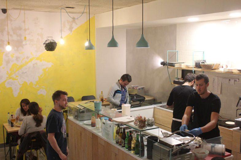 Cocina y sala de Sony's