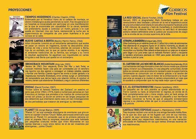 Proyecciones FilmFest