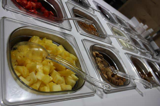 frutas y conguitos