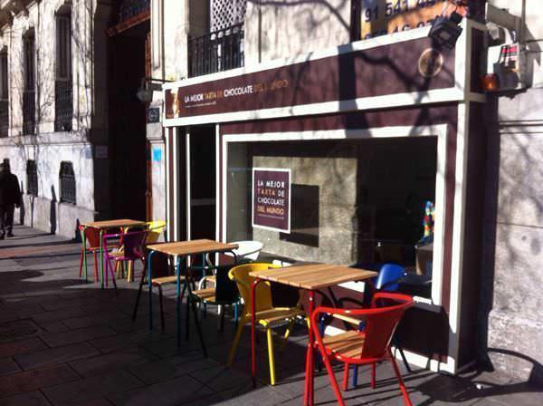 Terraza de la cafetería