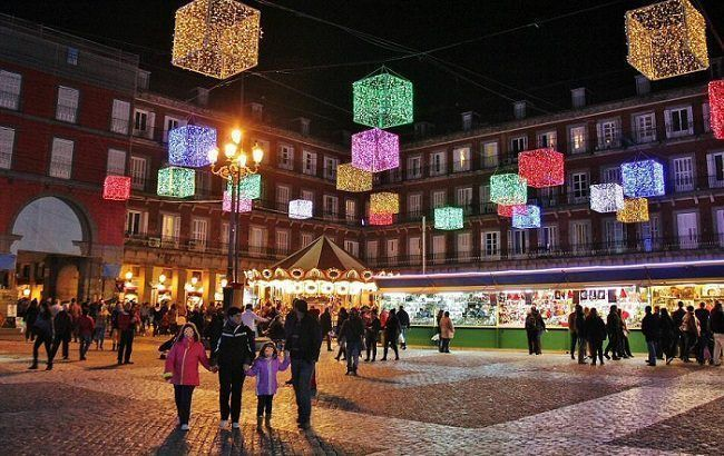Mercadillo Navideño Plaza Mayor