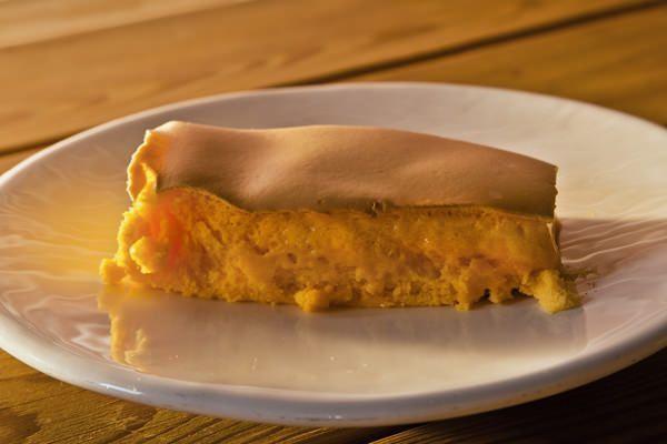 "Porción de ""Pão de Ló"", bizcocho típico portugués"
