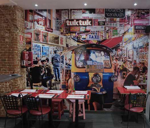 Tuk Tuk en la calle Alcalá, 167