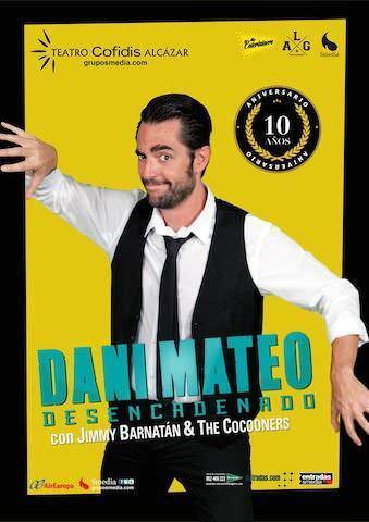 Cartel Dani Mateo- Desencadenado