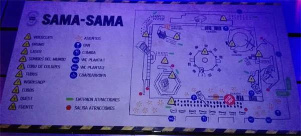 Plano actividades Sama Sama