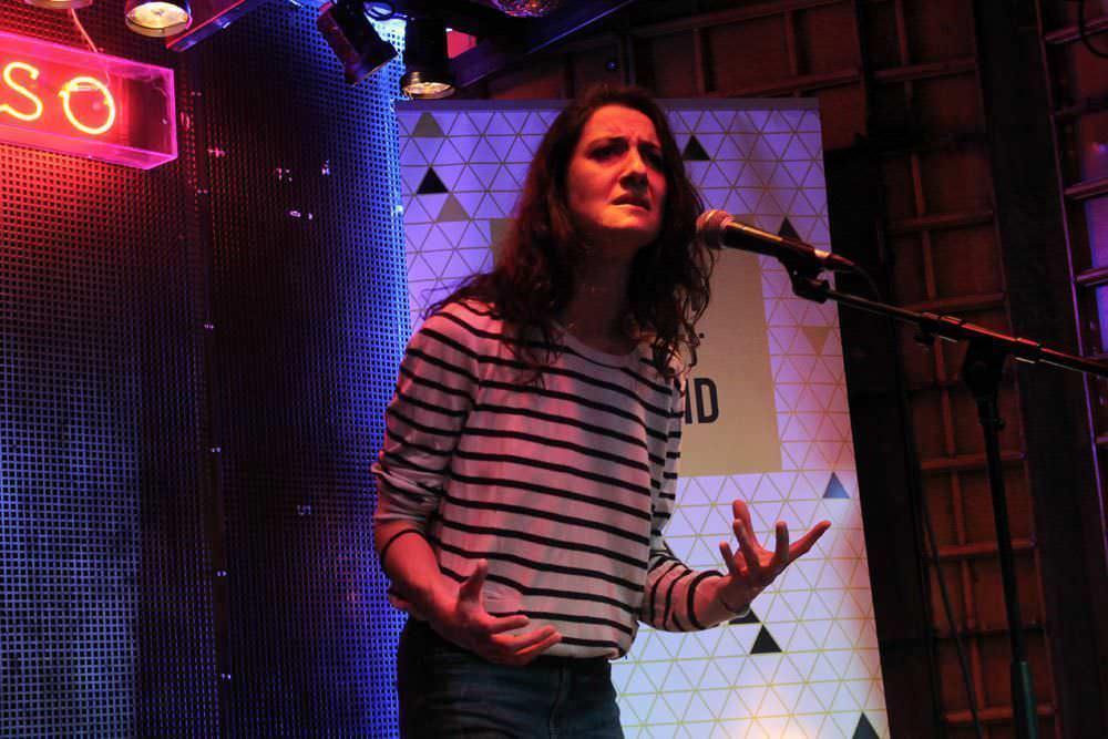 Olaia Pazos, poeta invitada