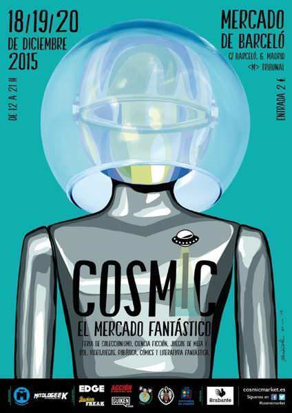 Cartel COSMIC 2015
