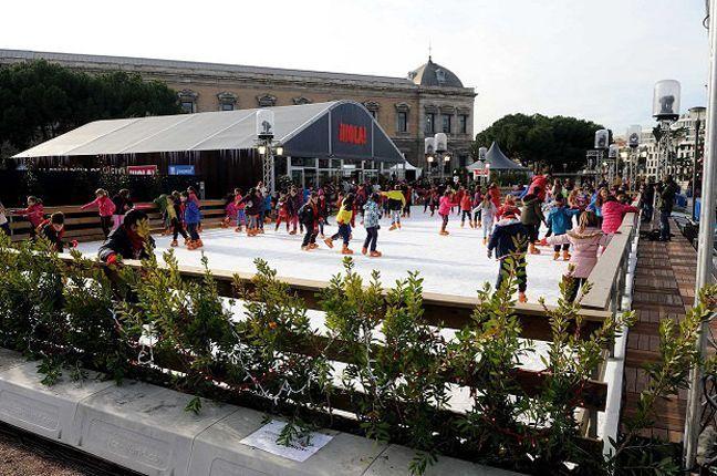 El patinaje y la Navidad van de la mano en Madrid