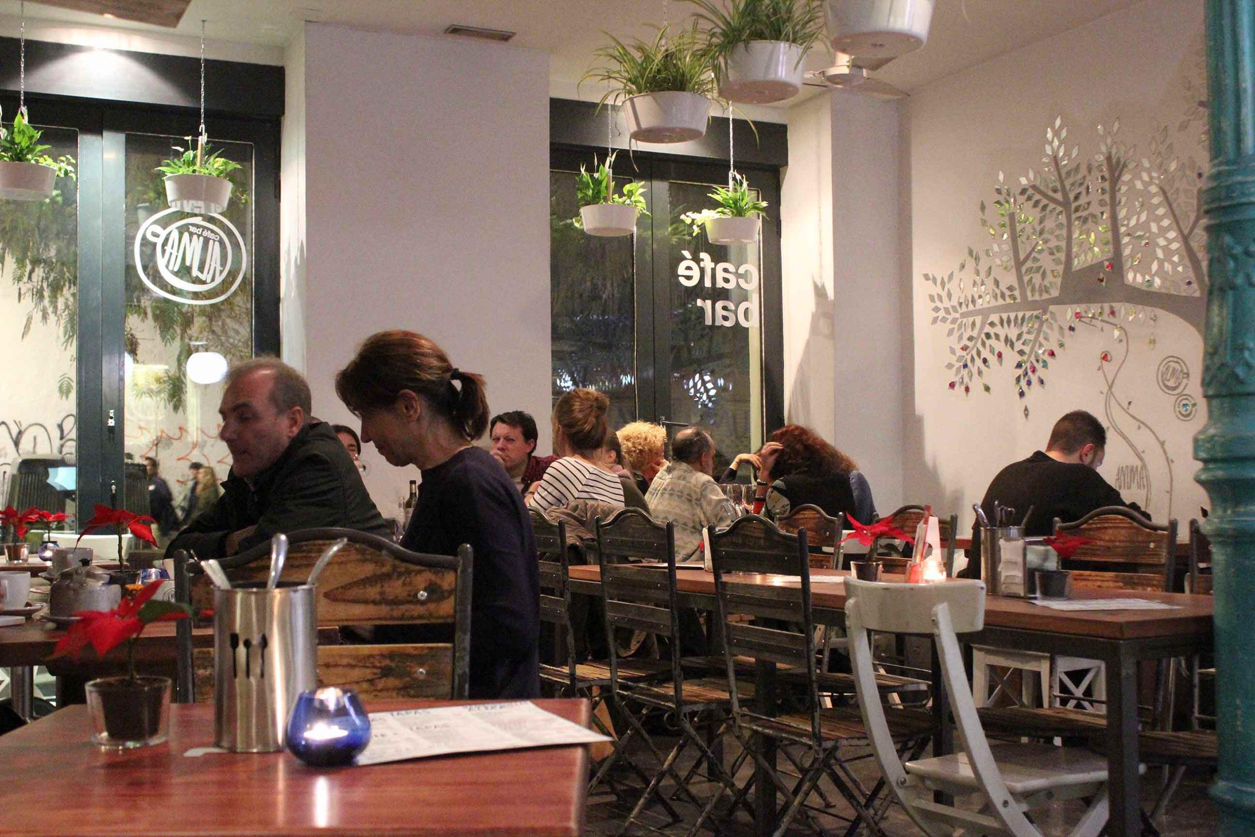 Alma Café • Un buen día en Madrid